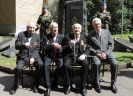 Дружеская встреча с легендарными разведчиками-ветеранами Великой Отечественной войны
